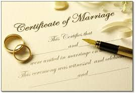 Pre-fill your info before going to Vegas. http://www.clarkcountynv.gov/depts/clerk/services/pages/marriagelicenses.aspx No blood test is required.   A marriage license allows a couple to marry in the state. It is not proof of marriage. the officiant has 10 days to submit documentation to the Recorder's Office.  A marriage license is issued the same day a couple applies. There is no waiting period to get married after the marriage license has been issued. $60