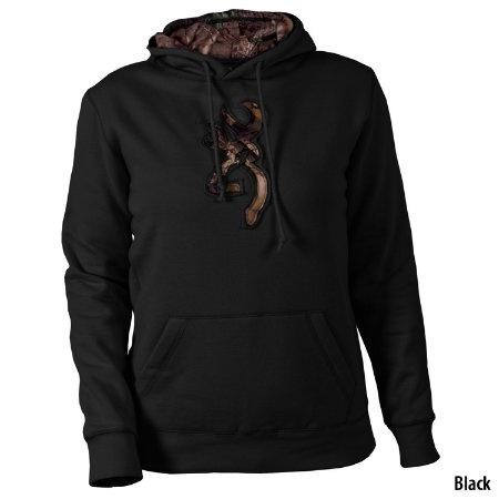 Browning Womens Buckmark Camo Hooded Sweatshirt - Gander Mountain