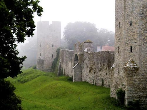 Medieval, Visby Castle, Gotland, Sweden
