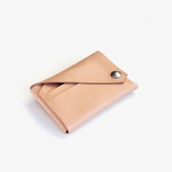 Lemur Wallet 2 in Natural Color ( The Loppist exclusive)