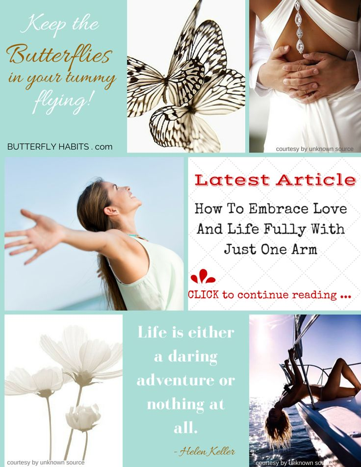 HOW TO EMBRACE LOVE AND LIFE FULLY WITH JUST ONE ARM ... click the picture and read more. A FREE gift is awaiting you . http://fannyritter.com/blog/how-to-embrace-love-and-life-fully-with-just-one-arm.html