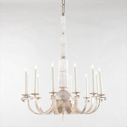 Allan knightlighting chandeliers gardanne rock crystal chandelier