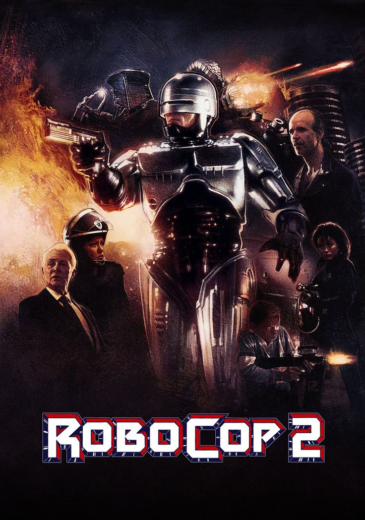 RoboCop 2 (1990)   Even in the future of law enforcement there is room for improvement