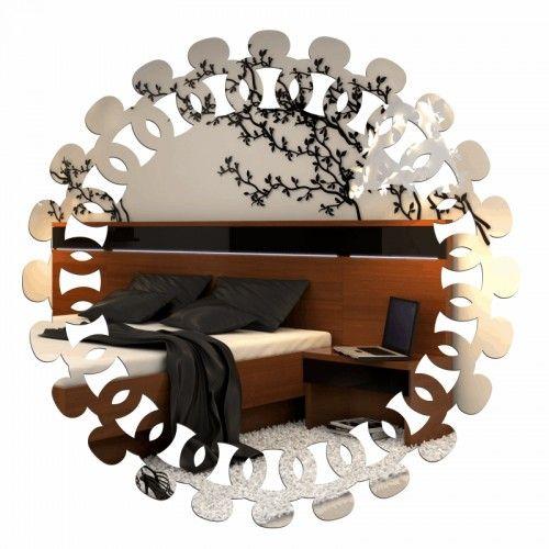 Okrúhle dekoračné zrkadlá do obývačky