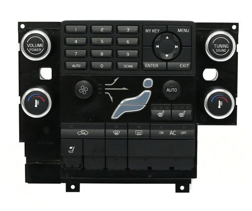 2007-2010 Volvo 60 70 80 Series OEM Radio and Climate Control Panel PN 30774372
