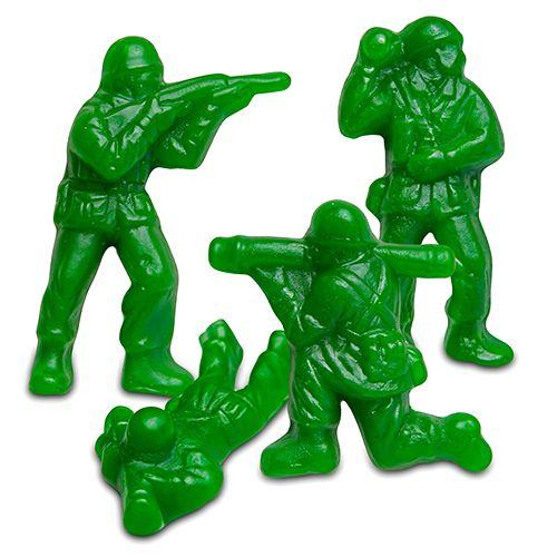 Gummi Army Guys - 5 LB Bulk Bag