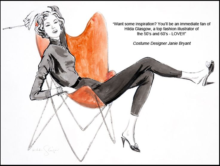 131 Best Fashion Illustrations Images On Pinterest