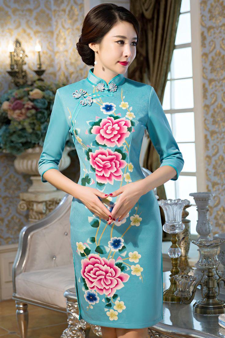 24 best Far Eastern Beauty images on Pinterest   Cheongsam dress ...