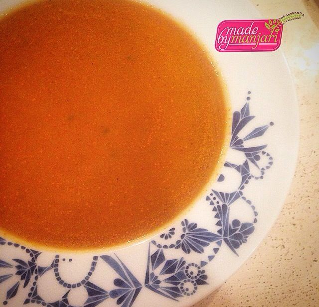 Butternut squash, pumpkin, and tomato soup to start off our meal! #madebymanjari #pumpkin #butternutsquash #tomato #soup #tasty #yummy #yvr #instafood #instagood #dinner #fresh #foodie #foodism #foodcoma #foodstagram #foodphotography #chefsofinstagram #cleaneats #healthy #halloween #healthyeats #healthyfoodshare #vegan #vancouver #vegetarian #veganfoodshare #vegetarianvancouver #nutrition