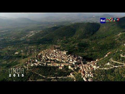 An aerial view of Molise