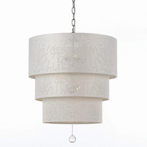 found it at wayfair candice olson over the top 5 light drum pendant - Drum Pendant Lighting