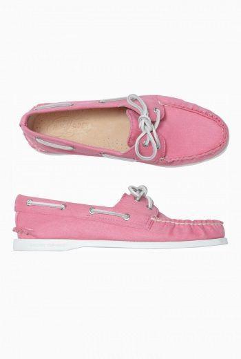 womens sperry canvas twill deck shoe camela 163 65 00