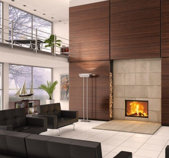 Spartherm Varia 1V100h #Kampen #Fireplace #Fireplaces #Interieur