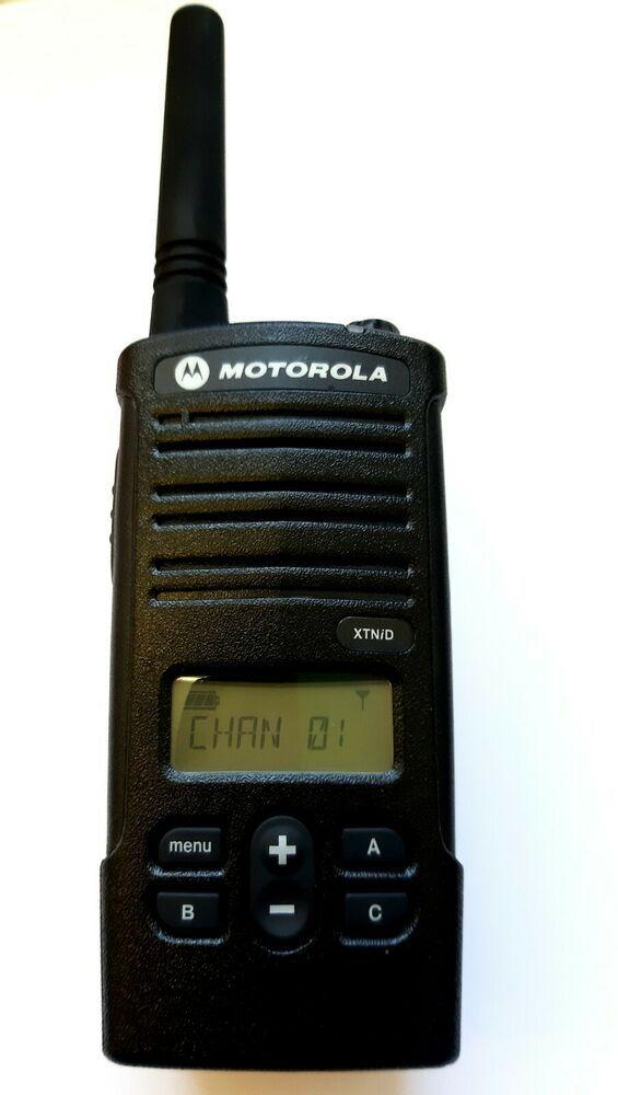 Motorola XTNiD (8 Channels) Two Way Radio, walkie talkie and