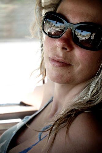 Mari on the road