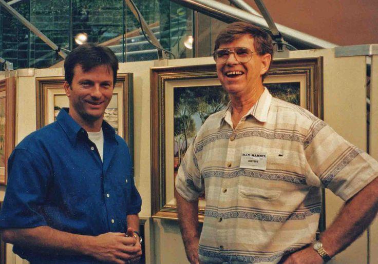 Steve Waugh and Max Mannix