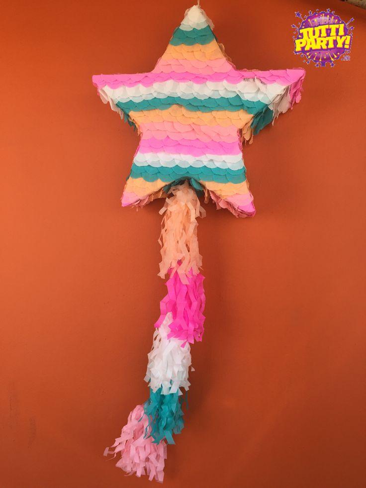 Beautiful piñatas, piñatas playa del carmen, fábrica de piñatas, idea de piñatas, estrella piñata
