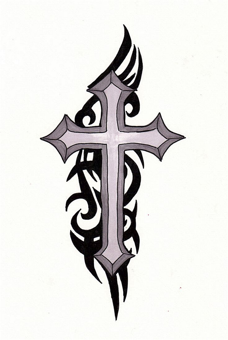 best 25 tribal cross tattoos ideas on pinterest cross drawing jesus on cross tattoo and. Black Bedroom Furniture Sets. Home Design Ideas