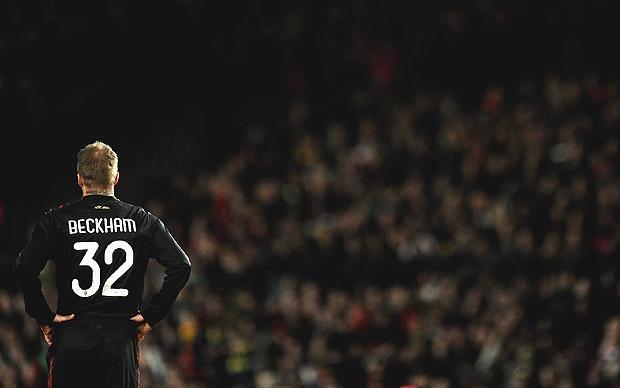 David Beckham for AC Milan