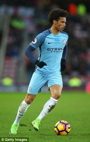 Manchester City youngster Leroy Sane compared to Gareth Bale
