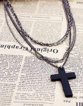 #SheInside Classic Elegant Western Boy Cross Necklace $8.84
