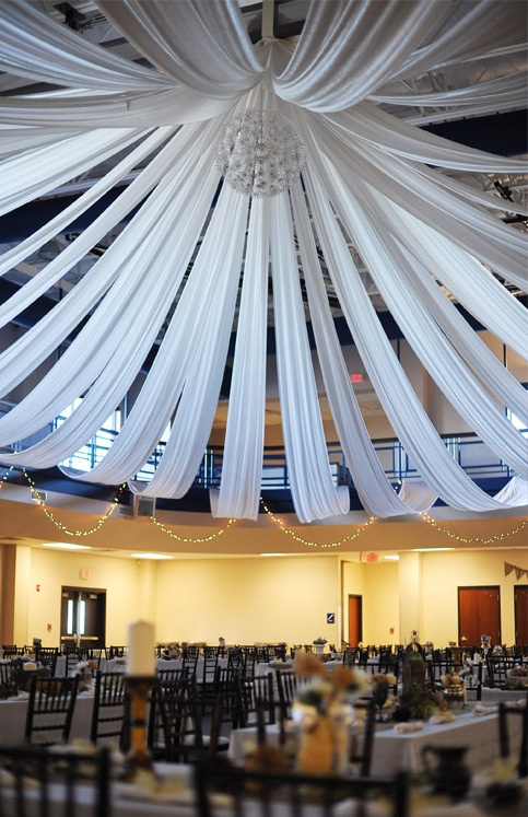 20 best wedding and event drapery images on pinterest wedding draping for wedding reception junglespirit Choice Image