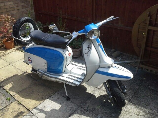 My old series 3 Lambretta SX150