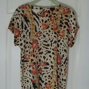 I just discovered this while shopping on Poshmark: ESCADA Margaretha Ley Silk Blouse S 36. Check it out! Price: $33 Size: M
