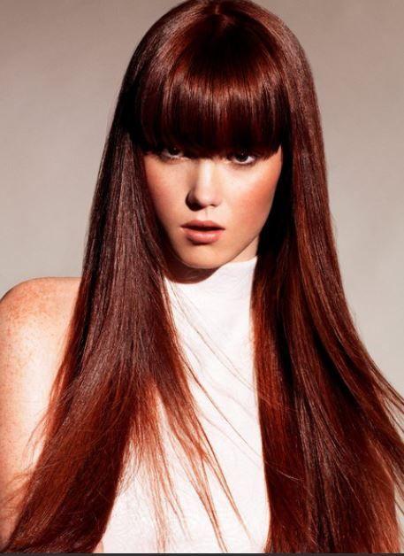 Tagli capelli lunghi con frangia inverno 2014