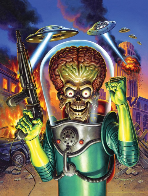 awesome mars attacks poster by jason edmiston