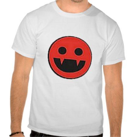 Vampire Smiley Tshirt