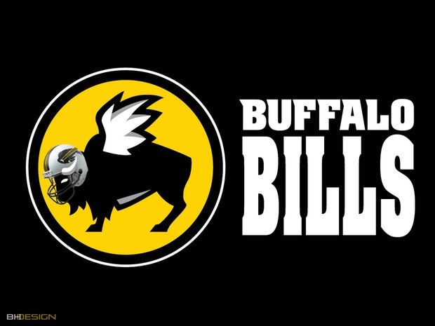 NFL Logos Redesigned as Corporate Companies by Brandon Hubschman