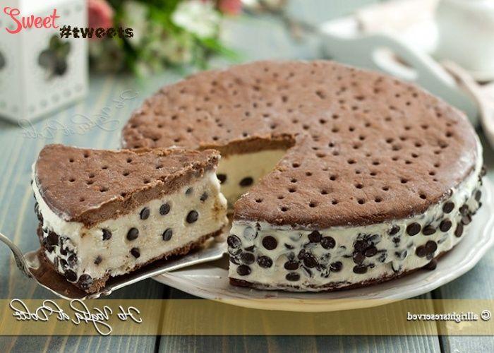 Домашний торт-мороженое