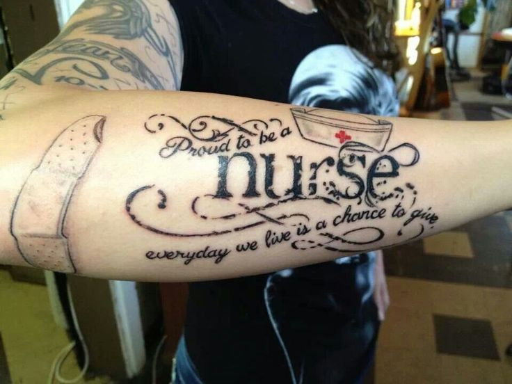 Registered Nurse Tattoos
