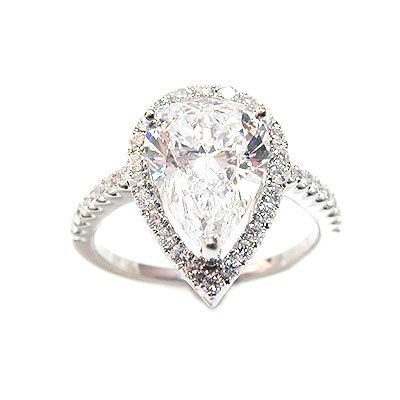 Different & I Love It: Pear Shape Diamond: Shows a women to be an individual, yet she still has a soft side for romance. The women who chooses this shape tends to set high standards for herself and everyone around her.