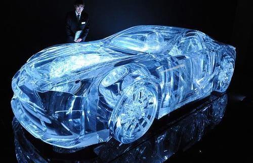 Lexus transparent car - its actually a real car!!!