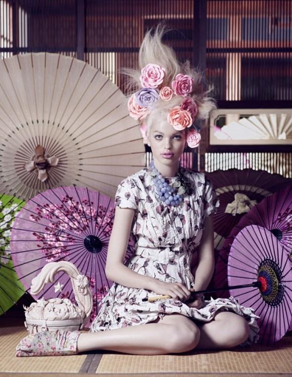 Mark Segal/PierGiorgio Del Moro - Vogue Japan November 2012 - The Secret Chatter of Golden Monkeys