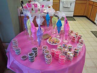 twocraftingmoms- CAKE DECORATING BIRTHDAY PARTY