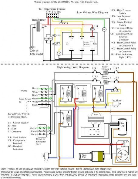 Split Ac Wiring Diagram Image Thermostat Wiring Ac Wiring Electrical Diagram