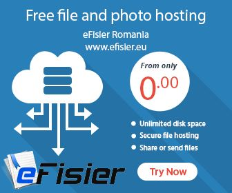 Free file and photo hosting service,try it now ! www.efisier.eu ‪#‎free‬ ‪#‎file‬ ‪#‎photo‬ ‪#‎hosting‬ ‪#‎efisier‬ ‪#‎service‬ ‪#‎trynow‬