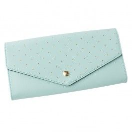 LEATHER TRAVEL / DOC WALLET: MINT kikki-k.com