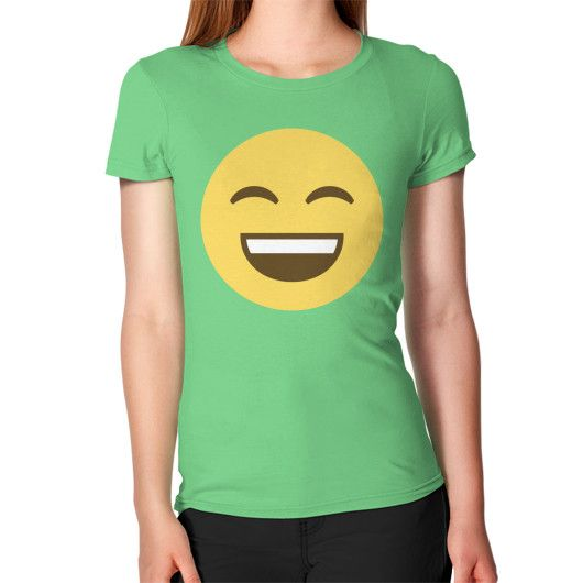 Smiling Emoji Women's T-Shirt