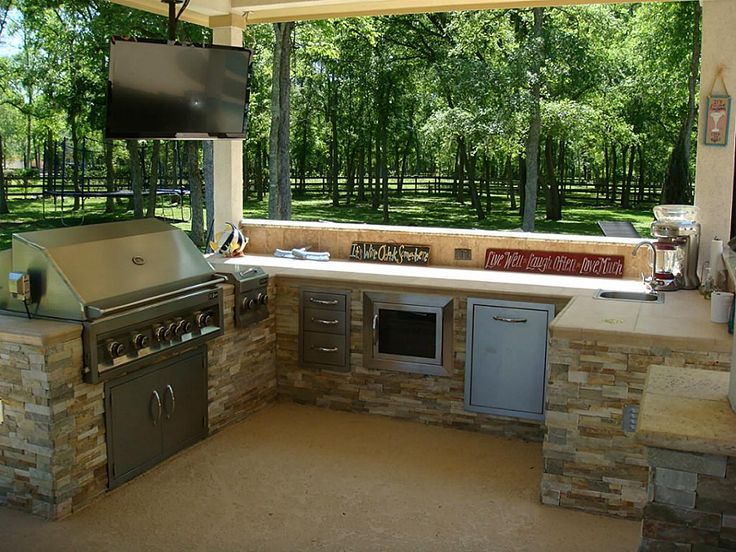 Top 25 Ideas About Outdoor Kitchen On Pinterest | Islands Sale Sale And Waterproof Tv