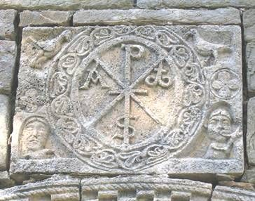 The Chi-Rho emblem can be viewed as the first Christian Cross. As a pre-Christian symbol, the Chi-ro signified good fortune.
