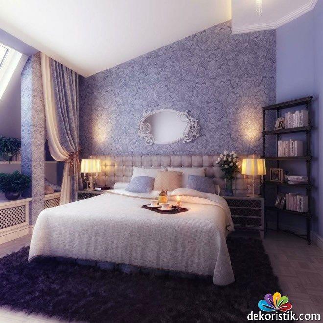 Modern Yatak Odası Duvar Kağıdı