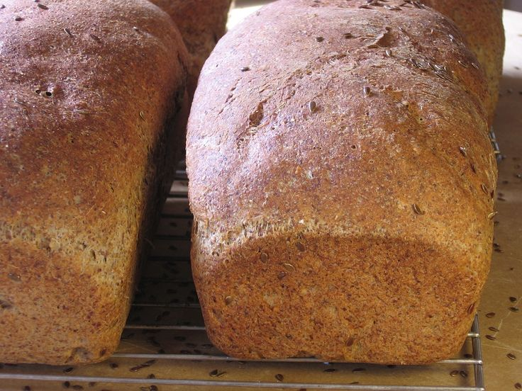 Nothing like the smell of freshly baked bread!
