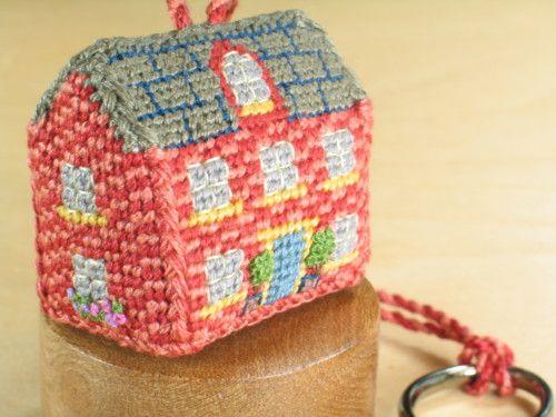 Tiny Red Brick House -