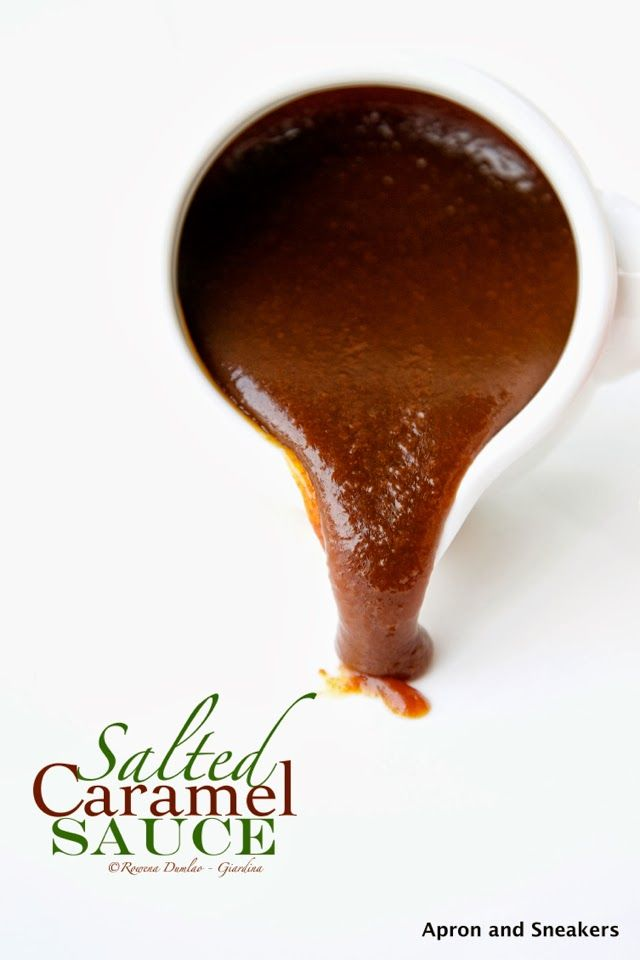 Apron and Sneakers - Cooking & Traveling in Italy and Beyond: Homemade Salted Caramel Sauce