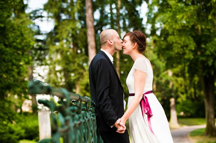 Ein Hochzeitsfoto aus Wiesbaden