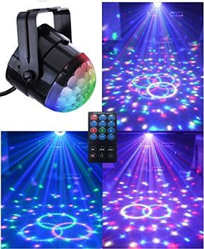 (SuperDiscount)Comwinn Disco Lights Strobe Light Disco Ball Dj Lights Party Lights Xmas 7colors Disco light Disco Party Lights Show for Christmas Parties DJ Karaoke Wedding Outdoor with Remote (Black) - http://partysuppliesanddecorations.com/superdiscountcomwinn-disco-lights-strobe-light-disco-ball-dj-lights-party-lights-xmas-7colors-disco-light-disco-party-lights-show-for-christmas-parties-dj-karaoke-wedding-outdoor-with-remote-black.html